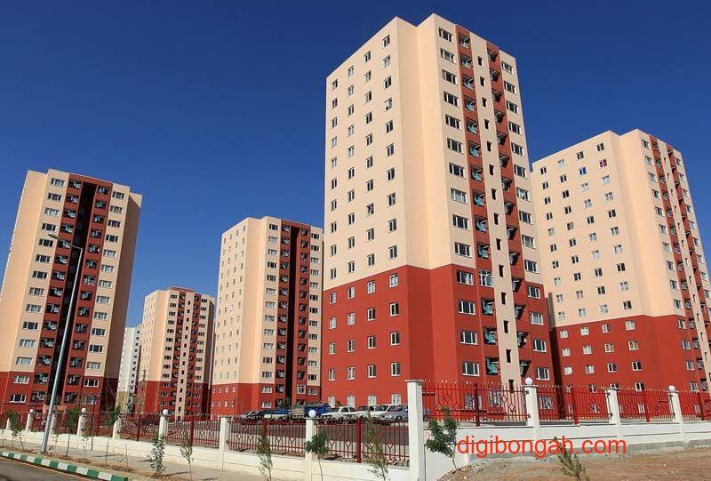 آپارتمان مسکن مهر فاز ۱۱ زون ۵